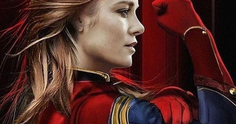 Brie Larson's Captain Marvel Costume Revealed in New Set Photo