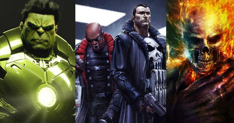 Will Hulk, Punisher, Blade & Ghost Rider Get TV Series?
