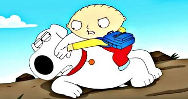 Stewie and Brian Brawl in Family Guy 300th Episode Sneak Peek