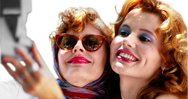 'Thelma & Louise' Stars Susan Sarandon and Geena Davis Reunite for 2014 Selfie