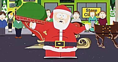 Santa Drops Uncensored C-Bomb in South Park Season Finale