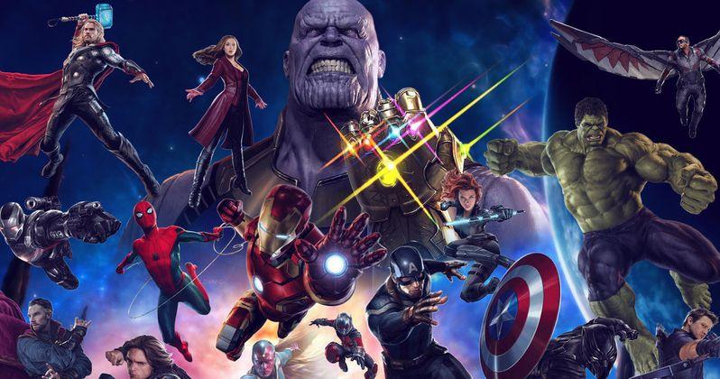 Epic Infinity War Scene Features 40 Marvel Superheroes