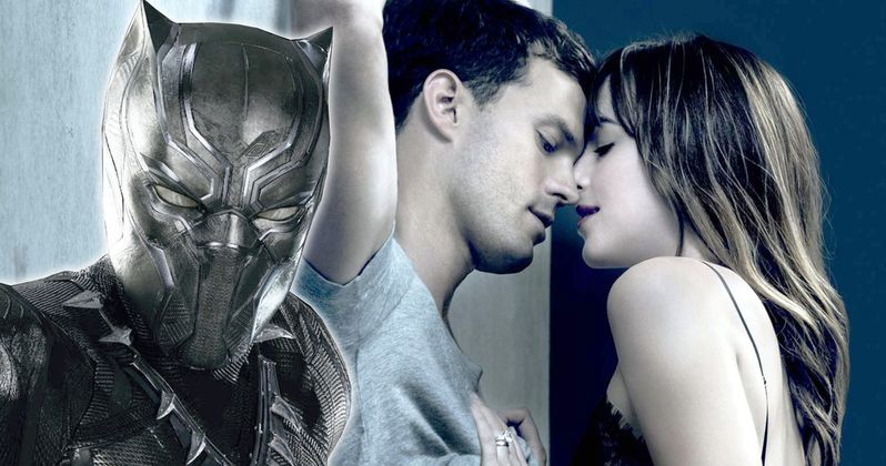 Black Panther Audience Loses It When Fifty Shades Plays Instead