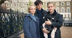 Watson's Baby Arrives in Sherlock Season 4 First Look