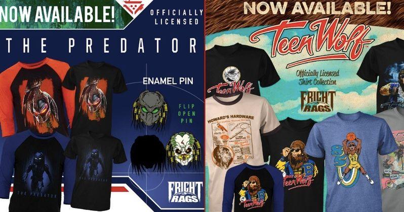 Fright Rags Unveils New The Predator, Teen Wolf & Slashback Video Shirts