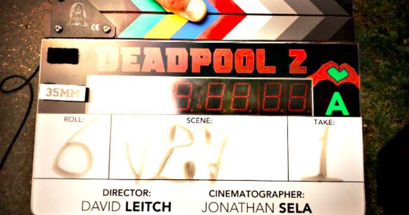 Deadpool 2 Set Photos Have Ryan Reynolds Crashing a Birthday Party