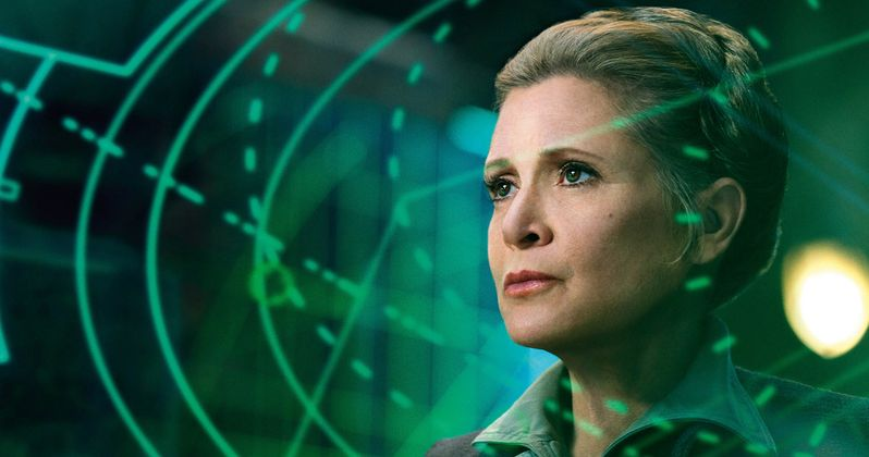 Carrie Fisher's Worst Acting Day Happened on Star Wars: The Force Awakens