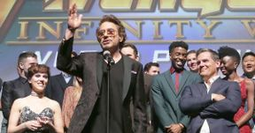 Robert Downey Jr.'s Heartfelt Infinity War Premiere Speech Was Perfect