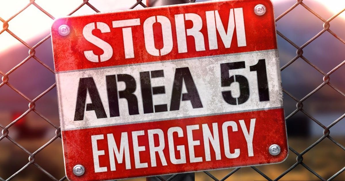 Storm Area 51 Raid Fizzles Out with Just 150 Attendees and Only One Arrest
