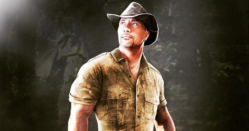 The Rock Reveals His Jumanji Sequel Character, Dr. Bravestone