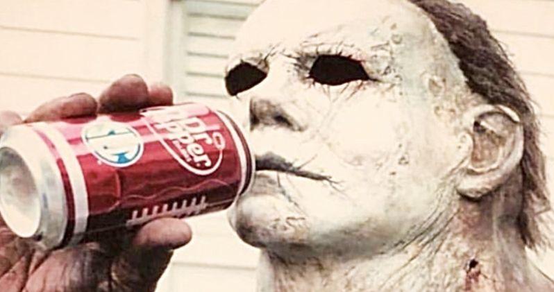 original michael myers actor recreates iconic halloween set photo