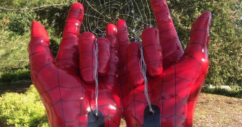Spider-Man Statue Deemed Devil Horns, Woman Wants Demonic Structure Torn Down