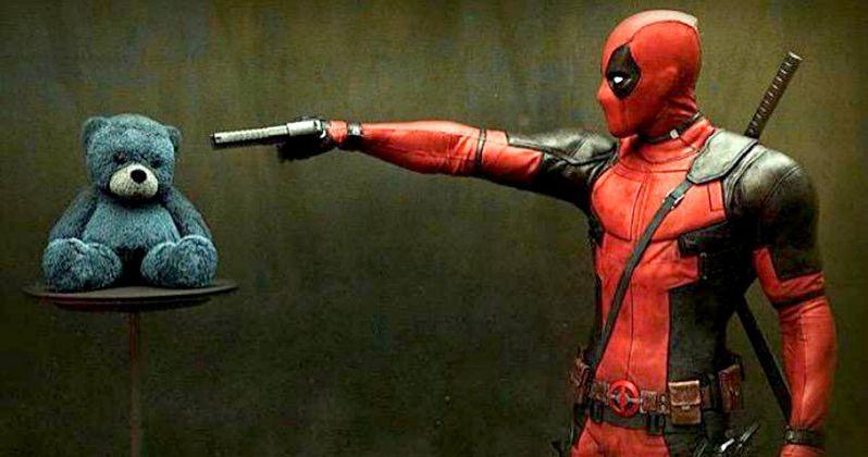 Deadpool Poster & EW Comic Con Magazine Cover