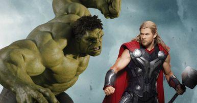Hulk and Thor Will Fight in Ragnarok