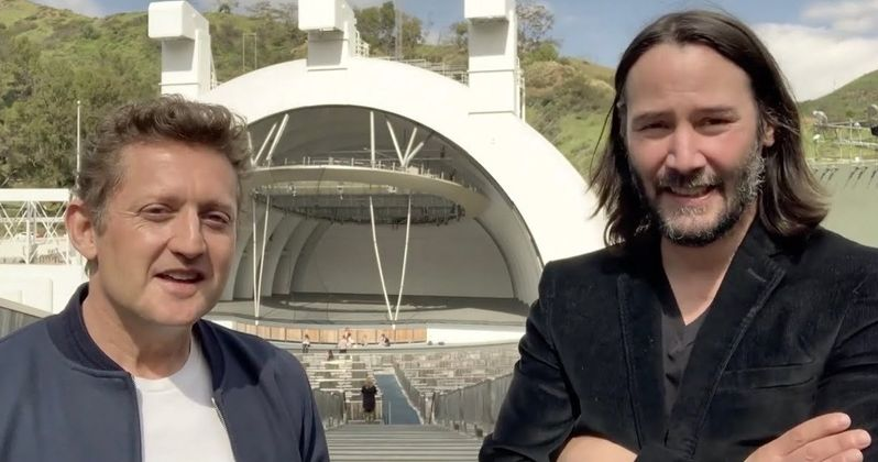 Keanu Reeves & Alex Winter Announce Bill & Ted 3 in Excellent Video Message