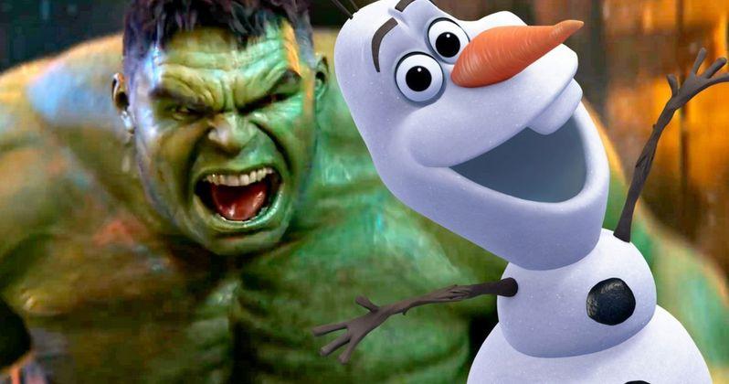 Josh Gad Trolls Mark Ruffalo Over Frozen 2 Spoilers