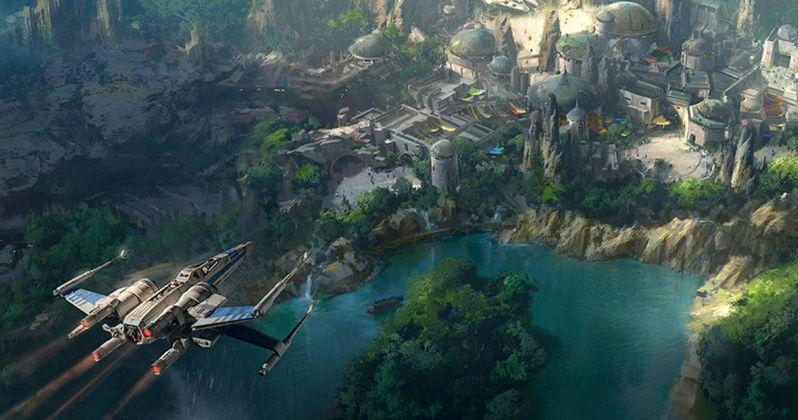 New Star Wars Land Concept Art Shows Off Disneyland Attraction
