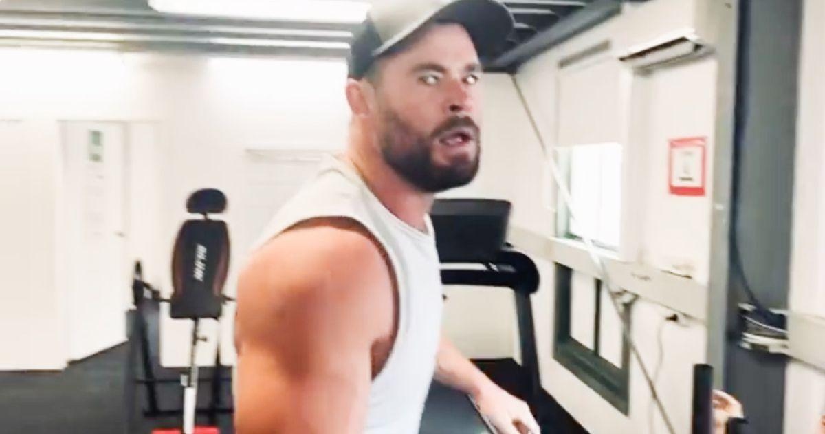 Thor 4 Training Video Chris Hemsworth