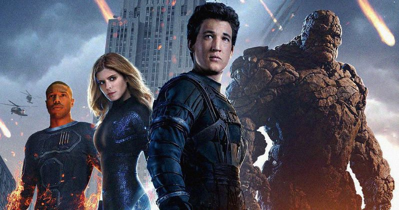 Fantastic Four TV Spot Explodes with Marvel Action