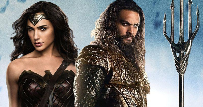 Alternate Aquaman & Wonder Woman Weapons Revealed in Batman v Superman Art