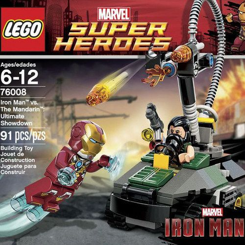 Iron Man 3 LEGO Sets and Box Art Reveal Huge Spoilers!