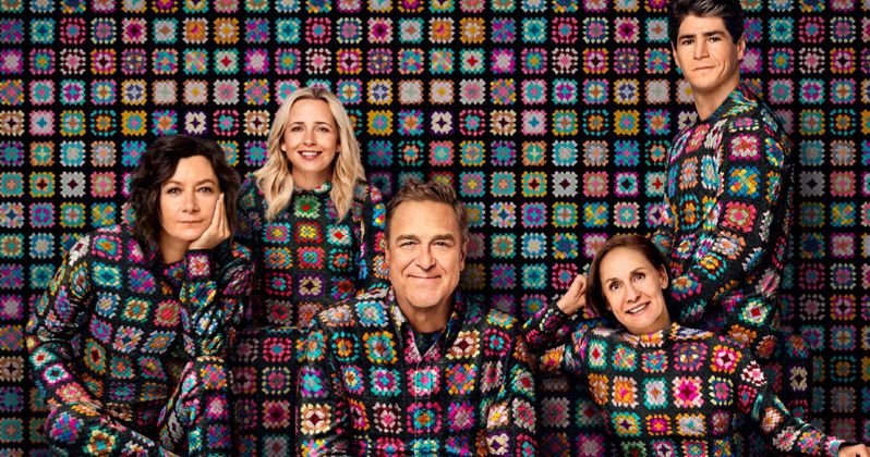 The Conners Season 2 Poster Has the Iconic Family Hanging by a Thread