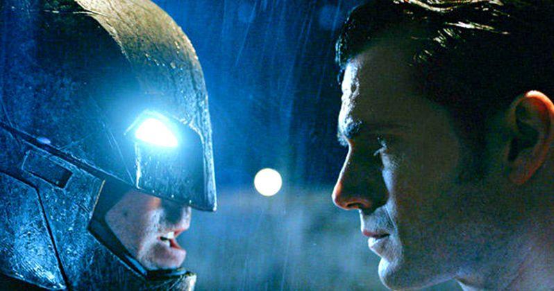 Batman v Superman Photo Shows an Intense Face-Off
