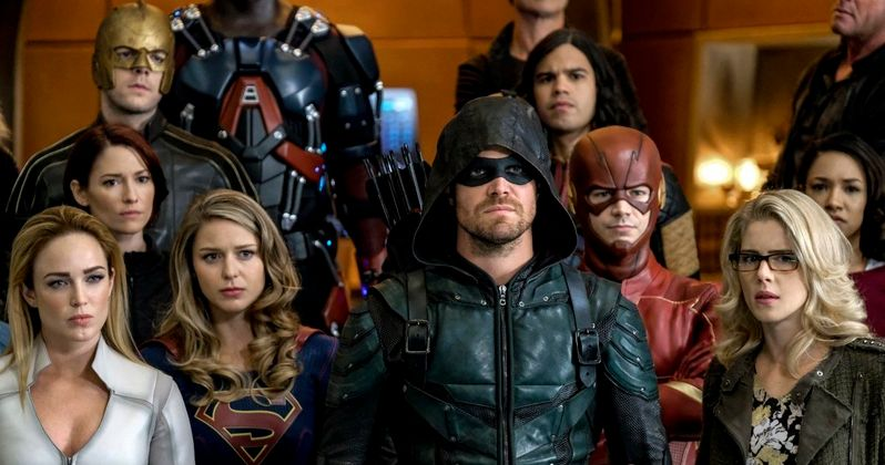 Crisis on Earth-X Trailer Unites the Arrowverse Against a Doomsday Threat