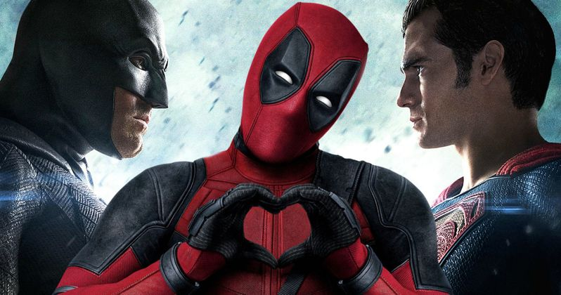 Batman v Superman Won't Beat Deadpool at the Domestic Box Office