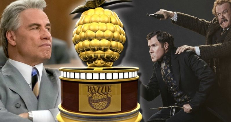 Holmes & Watson, Gotti Lead 2019 Razzie Awards Nominations