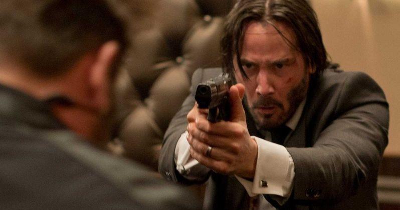 Keanu Reeves Talks John Wick 2 Story & New Fighting Style