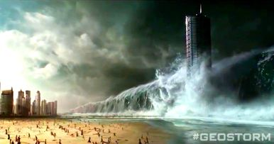 First Geostorm Footage Unleashes Deadly Weather Across the World
