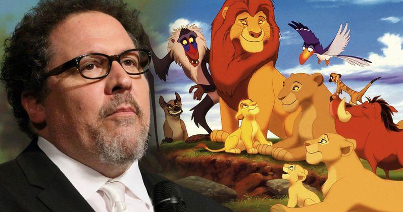 How Jon Favreau Is Approaching Disney's Lion King Remake