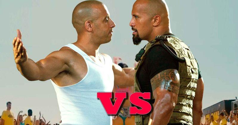 Is Fast 8 Feud Between the Rock & Vin Diesel a WWE Stunt?