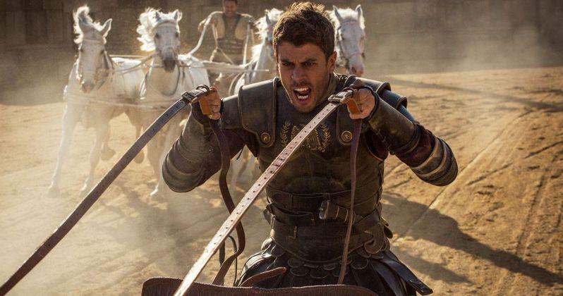 Toby Kebbell Talks Ben-Hur, Chariot Races & Remakes | EXCLUSIVE