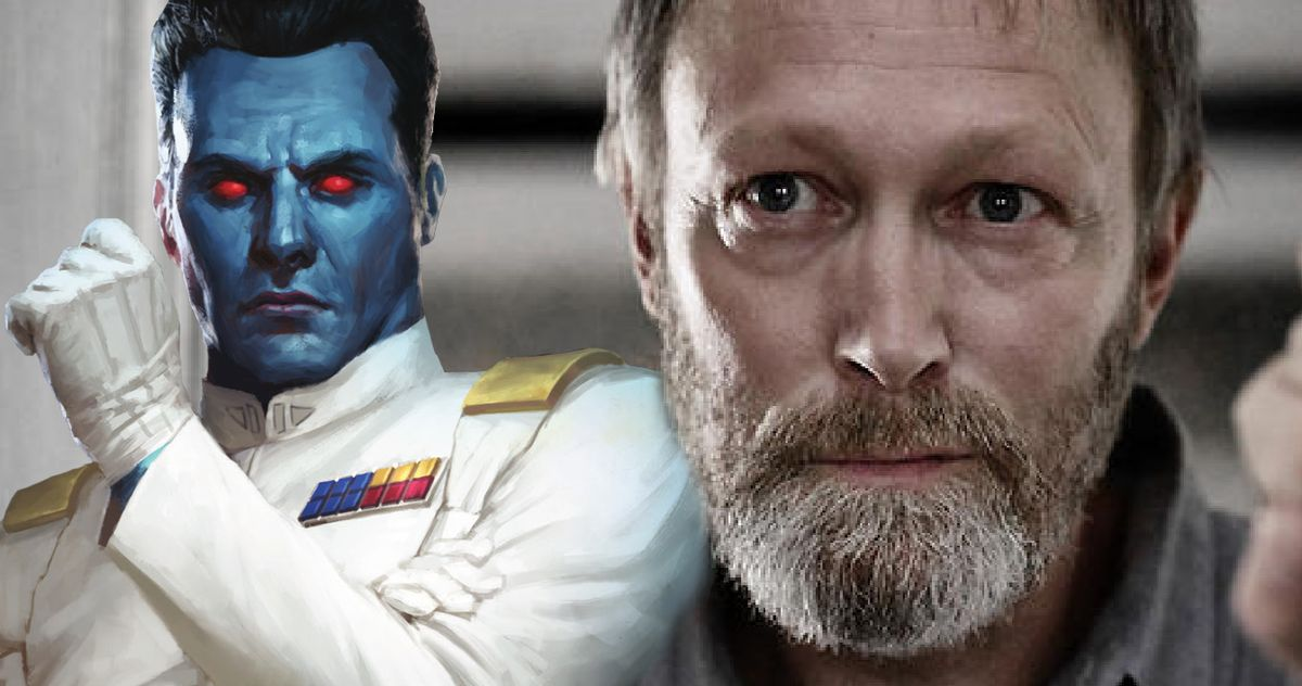 По слухам, Ларс Миккельсен сыграет гранд-адмирала Трауна в сериале «Асока» Disney +