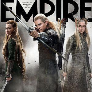The Hobbit: The Desolation of Smaug Empire Magazine Cover Photos