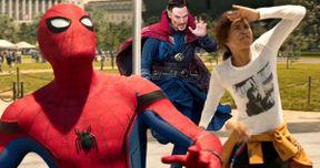 Infinity War Set Photos Unite Doctor Strange & Spider-Man