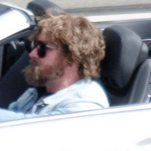 Zach Galifianakis Crashes a Car on the Set of The Hangover Part III!