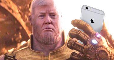 Josh Brolin Reads Trump Tweets as Thanos