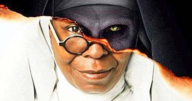 The Nun Meets Sister Act in a Hilariously Possessed Mashup Poster
