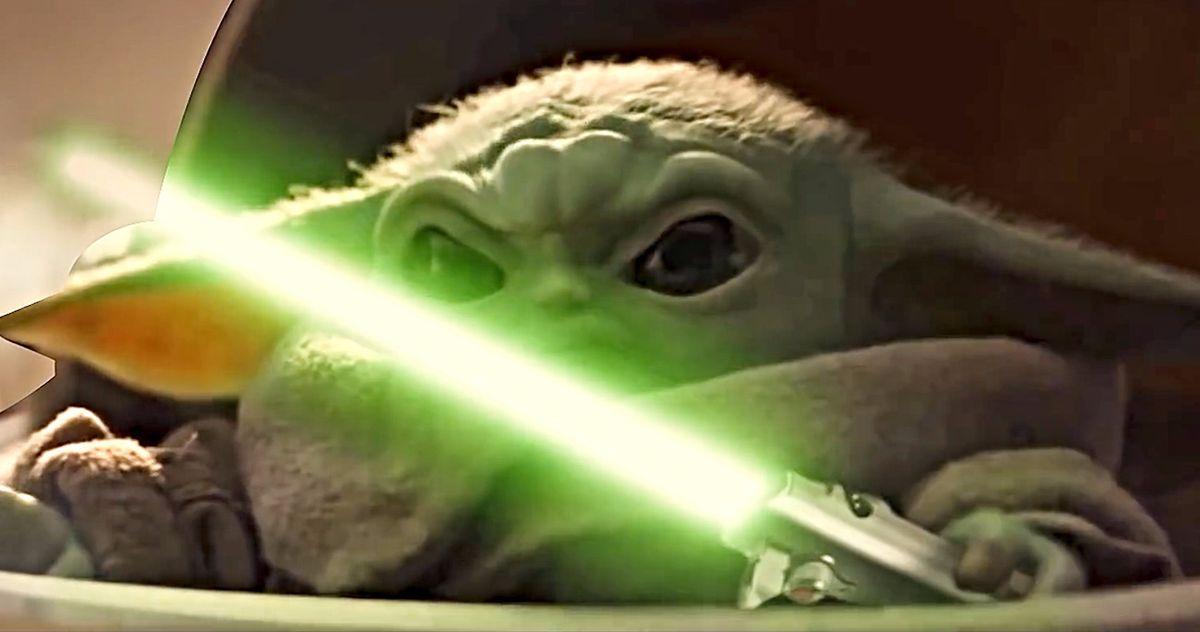 Lightsaber-Wielding Baby Yoda Joins the Avengers in Endgame Mashup Video
