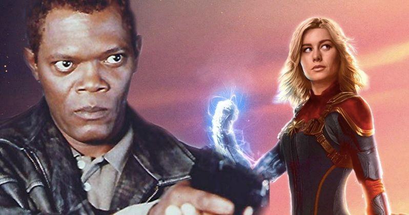 Samuel L  Jackson Will Be De-Aged Through All of Captain Marvel