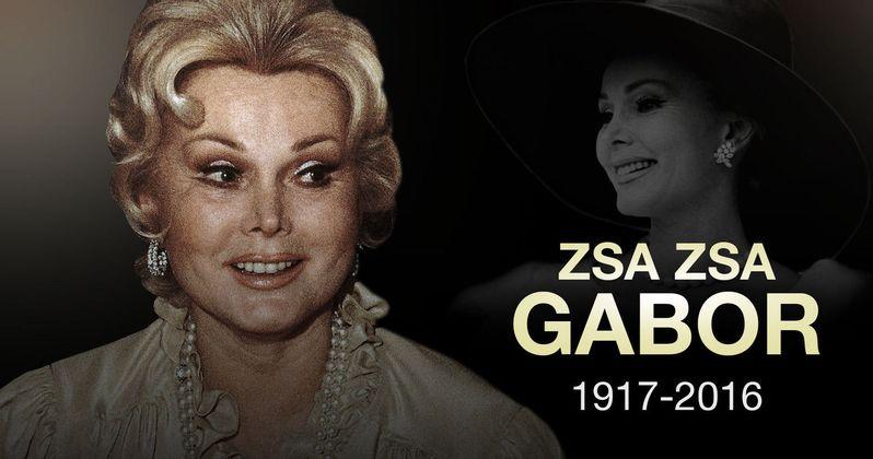 Zsa Zsa Gabor Passes Away at 99