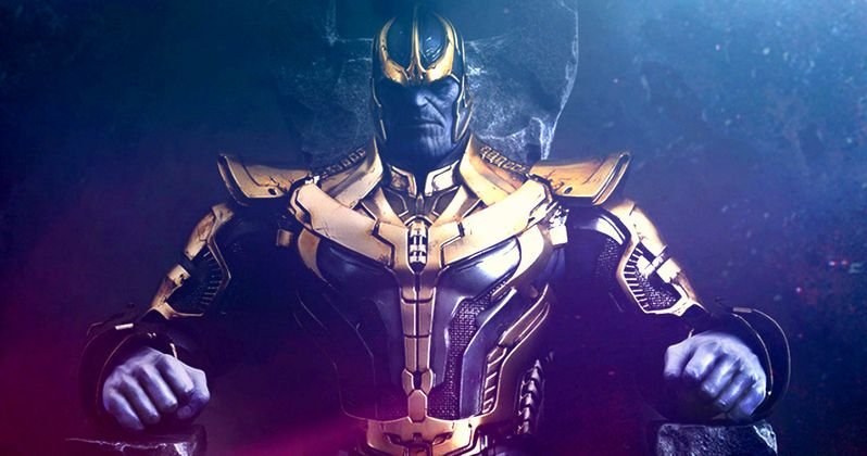 Guardians of the Galaxy Thanos Action Figure Poster