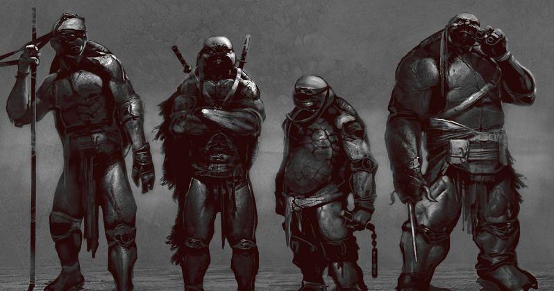 Teenage Mutant Ninja Turtles Alternate Design Concept Art