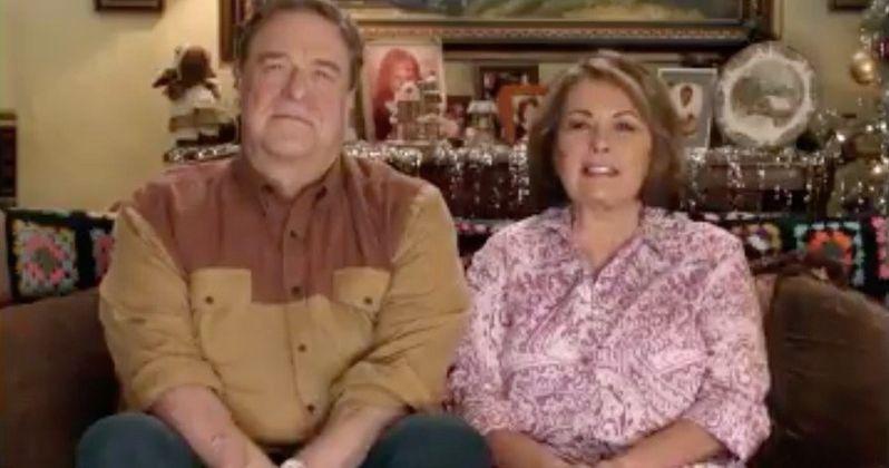Roseanne and John Goodman Wish Everyone a Merry Christmas