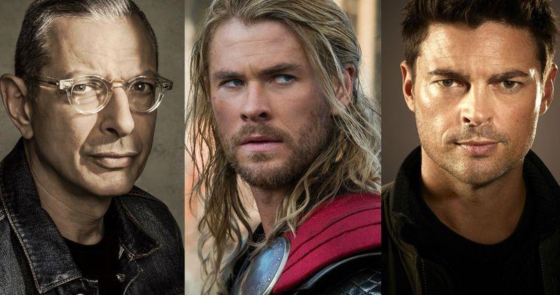 Thor: Ragnarok Lands Jeff Goldblum & Karl Urban as Villains