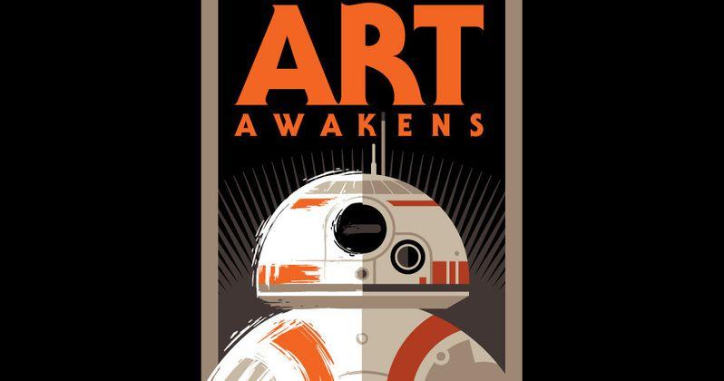 Star Wars 7 Launches Art Awakens Program