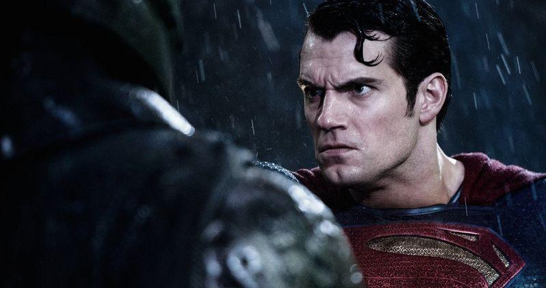 Batman v Superman Photos Show the Heroes Fighting in the Rain